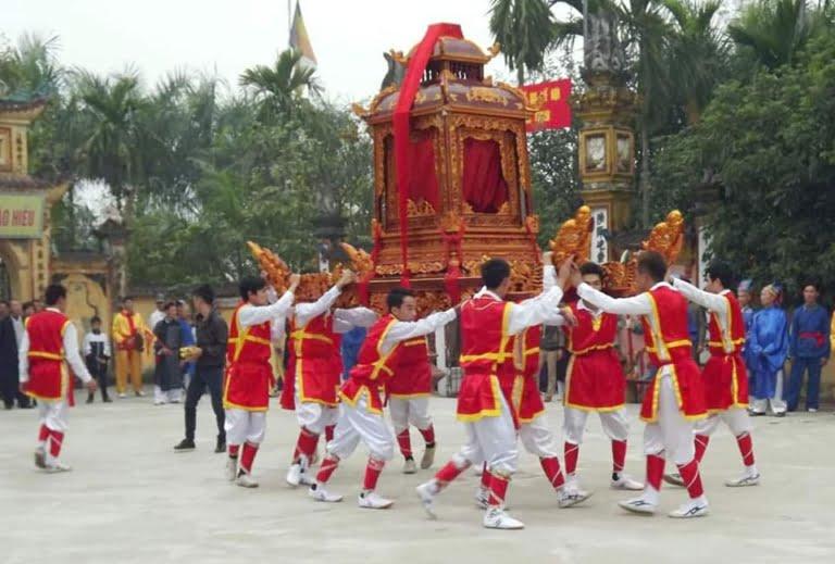 Tìm hiểu lễ hội làng Vĩnh Thịnh xã Đại Áng, Thanh Trì