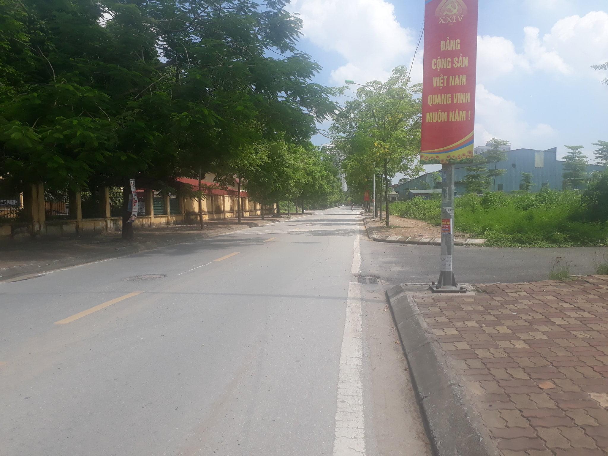 Bán đất tái định cư X4 – Tứ Hiệp, mặt đường Quang Lai